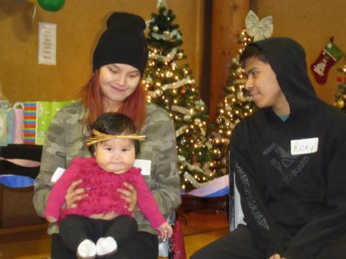 Christmas baby welcoming